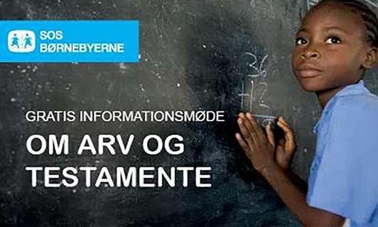 Informationsmøde Om Testamente Og Arv I Samarbejde Med Sos Børnebyerne